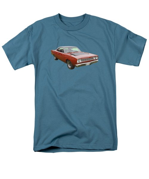 Red 1968 Plymouth Roadrunner Muscle Car Men's T-Shirt  (Regular Fit) by Keith Webber Jr