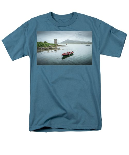Red Boat Men's T-Shirt  (Regular Fit) by Marty Garland