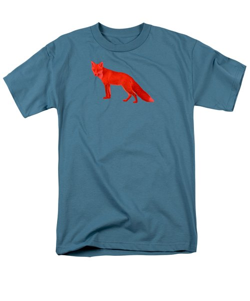 Men's T-Shirt  (Regular Fit) featuring the photograph Red Fox Forest by Movie Poster Prints