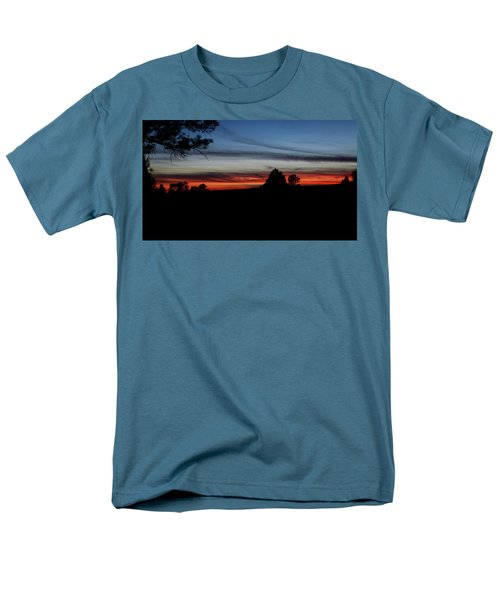 Red Sunset Strip Men's T-Shirt  (Regular Fit) by Jason Coward
