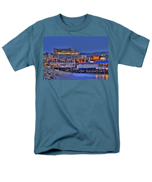 Redondo Landing Men's T-Shirt  (Regular Fit) by Richard J Cassato