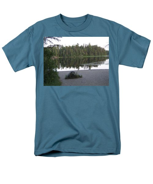 Reflections Lake 1 Men's T-Shirt  (Regular Fit) by Barbara Yearty