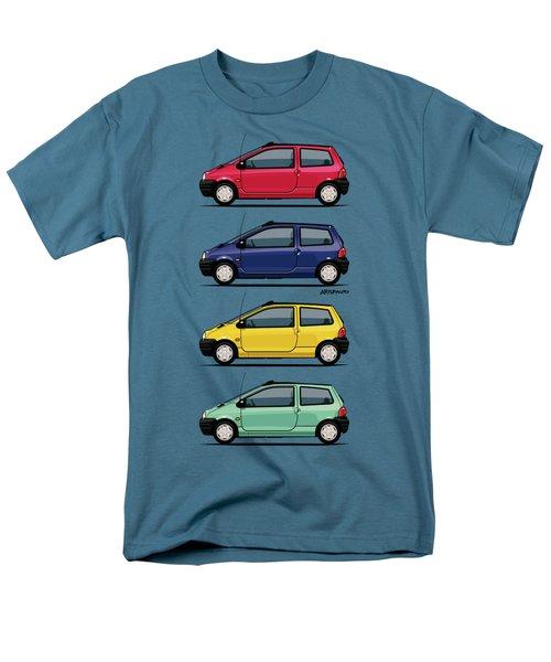 Renault Twingo 90s Colors Quartet Men's T-Shirt  (Regular Fit) by Monkey Crisis On Mars