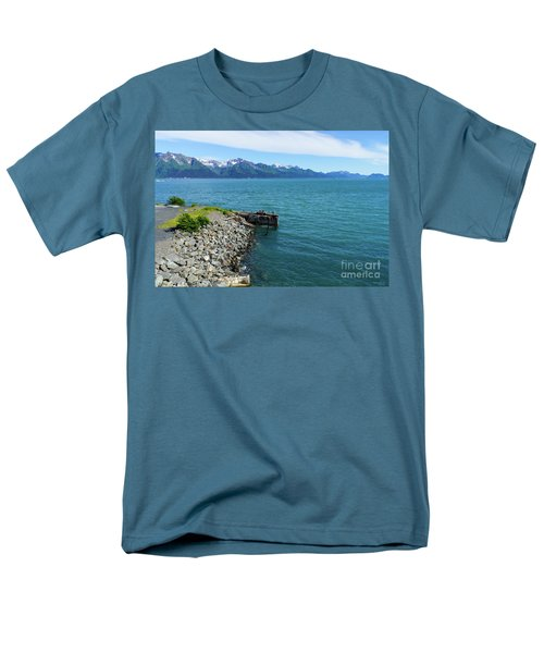 Resurrection Bay Men's T-Shirt  (Regular Fit) by Jennifer White