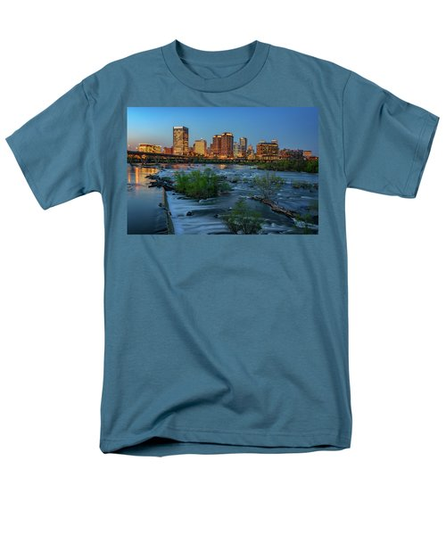 Men's T-Shirt  (Regular Fit) featuring the photograph Richmond Twilight by Rick Berk
