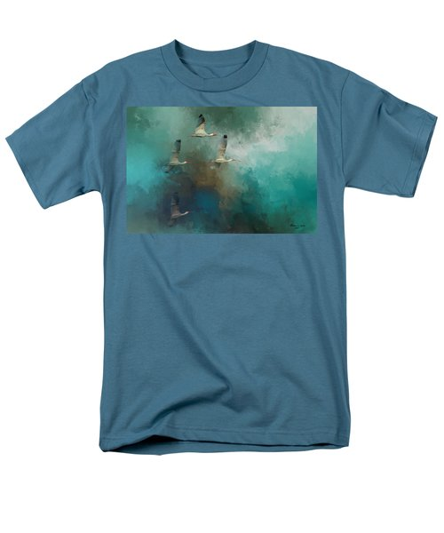 Men's T-Shirt  (Regular Fit) featuring the photograph Riding The Winds by Marvin Spates