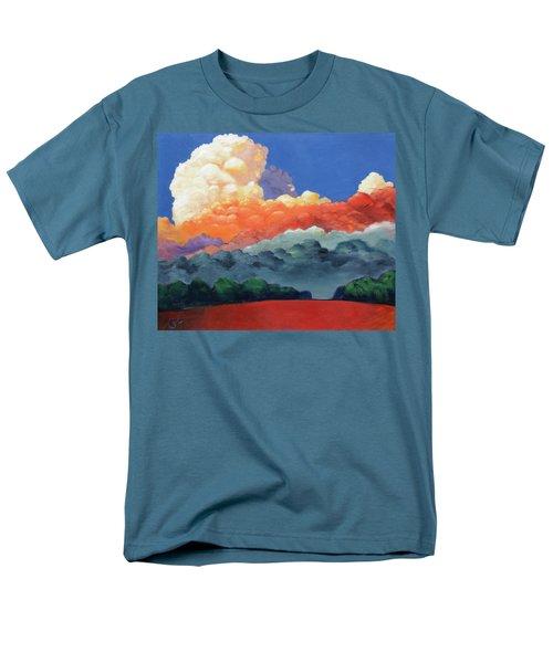 Rising High Men's T-Shirt  (Regular Fit) by Gary Coleman