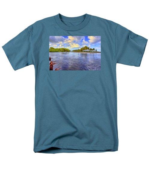 River Island Men's T-Shirt  (Regular Fit) by Nadia Sanowar