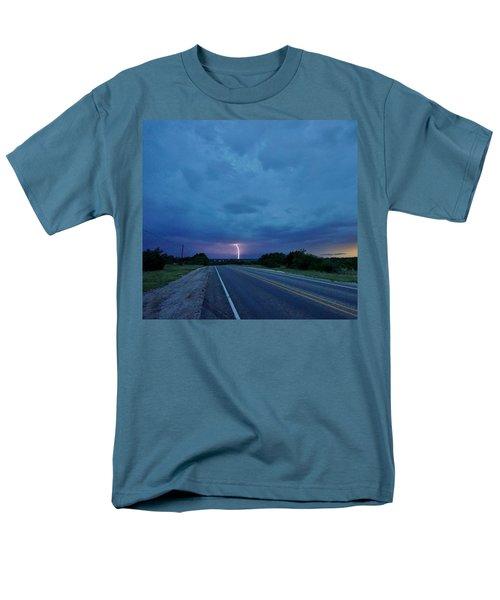 Lightning Over Sonora Men's T-Shirt  (Regular Fit) by Ed Sweeney