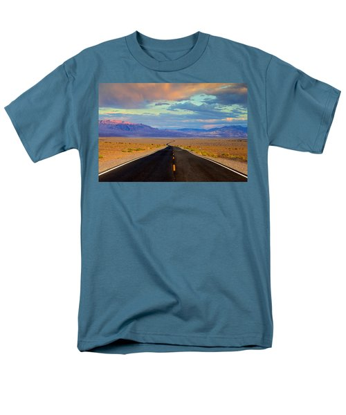 Men's T-Shirt  (Regular Fit) featuring the photograph Road To The Dreams by Evgeny Vasenev
