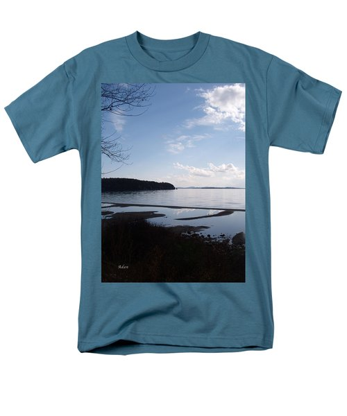 Men's T-Shirt  (Regular Fit) featuring the photograph Rock Point North View Vertical by Felipe Adan Lerma