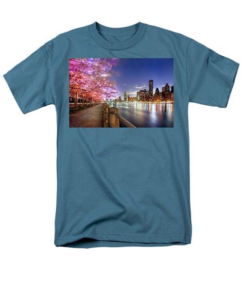 Romantic Blooms Men's T-Shirt  (Regular Fit) by Az Jackson