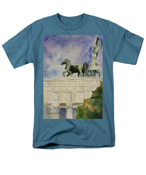 Rome Souvenir Men's T-Shirt  (Regular Fit) by Geeta Biswas