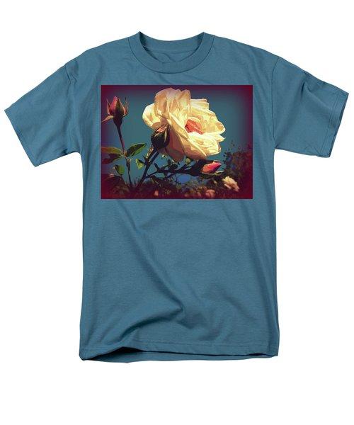 Rose Facing The Sun Men's T-Shirt  (Regular Fit) by Susan Lafleur