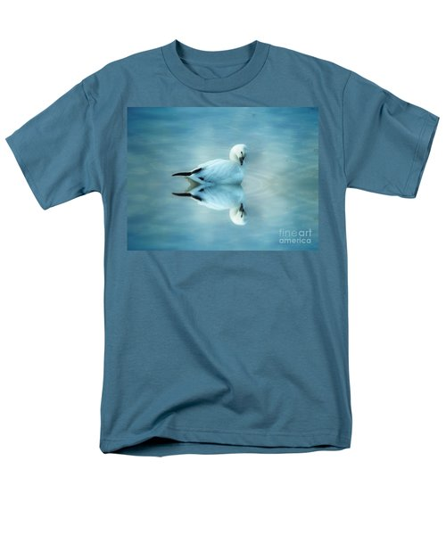 Ross Goose Men's T-Shirt  (Regular Fit) by Suzanne Handel