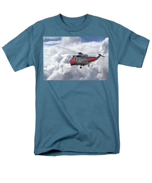 Men's T-Shirt  (Regular Fit) featuring the photograph Royal Navy - Sea King by Pat Speirs