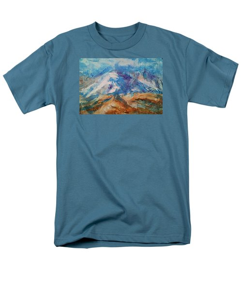 Rugged Terrain Men's T-Shirt  (Regular Fit) by Becky Chappell