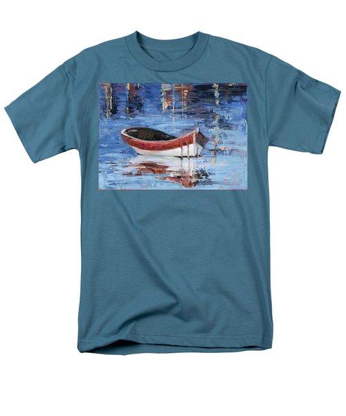 Rusty Brown Blues Men's T-Shirt  (Regular Fit) by Trina Teele