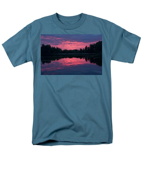Sabao Sunset 01 Men's T-Shirt  (Regular Fit) by Brent L Ander