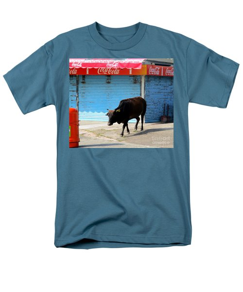 Men's T-Shirt  (Regular Fit) featuring the photograph Sacred Cow 1 by Randall Weidner
