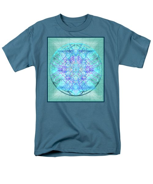 Men's T-Shirt  (Regular Fit) featuring the digital art Sacred Symbols Out Of The Void 3b1 by Christopher Pringer