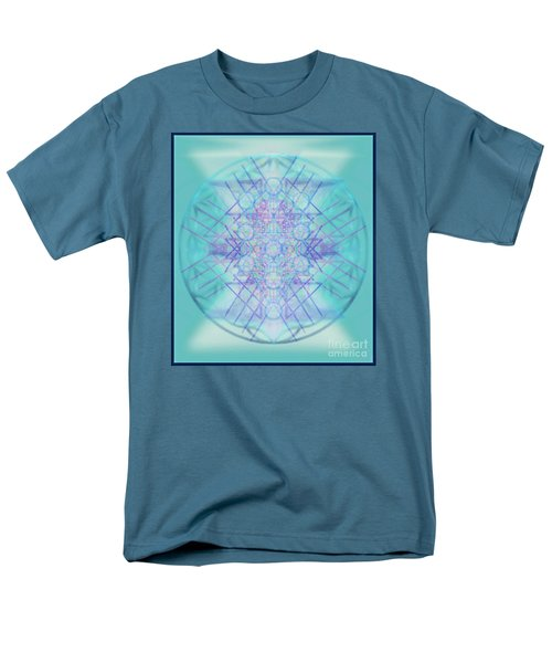 Men's T-Shirt  (Regular Fit) featuring the digital art Sacred Symbols Out Of The Void A2b by Christopher Pringer