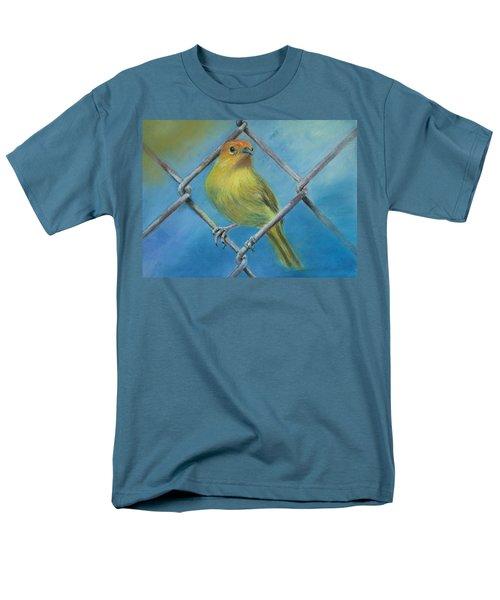 Safron Finch Men's T-Shirt  (Regular Fit) by Ceci Watson