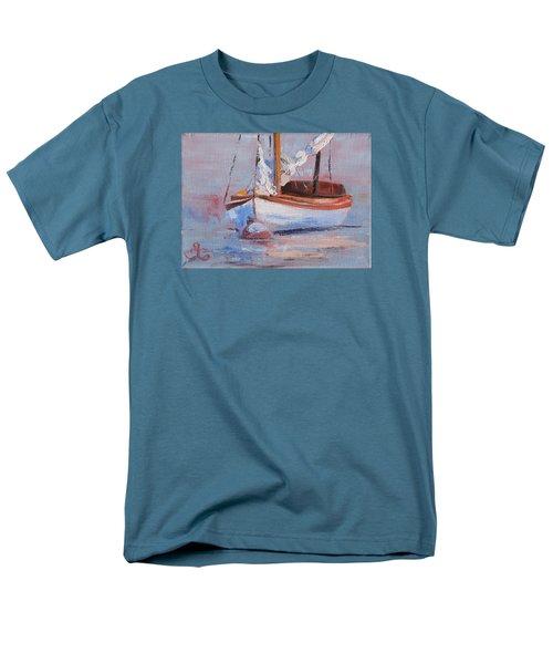 Sailboat Wisdom Men's T-Shirt  (Regular Fit) by Trina Teele