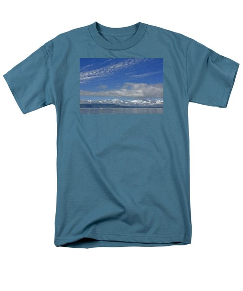 Sailing In The San Juan Islands Men's T-Shirt  (Regular Fit) by Elvira Butler