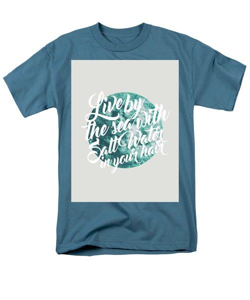 Salt Water Men's T-Shirt  (Regular Fit) by Uma Gokhale