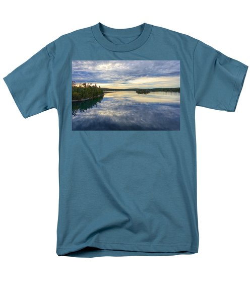 Sambro Basin I Nova Scotia Men's T-Shirt  (Regular Fit) by Heather Vopni