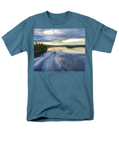 Sambro Basin II Nova Scotia Men's T-Shirt  (Regular Fit) by Heather Vopni