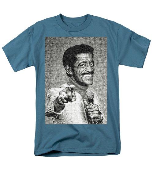 Sammy Davis Jr - Entertainer Men's T-Shirt  (Regular Fit) by Ian Gledhill