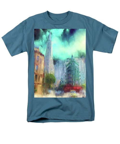 San Francisco Men's T-Shirt  (Regular Fit) by Michael Cleere