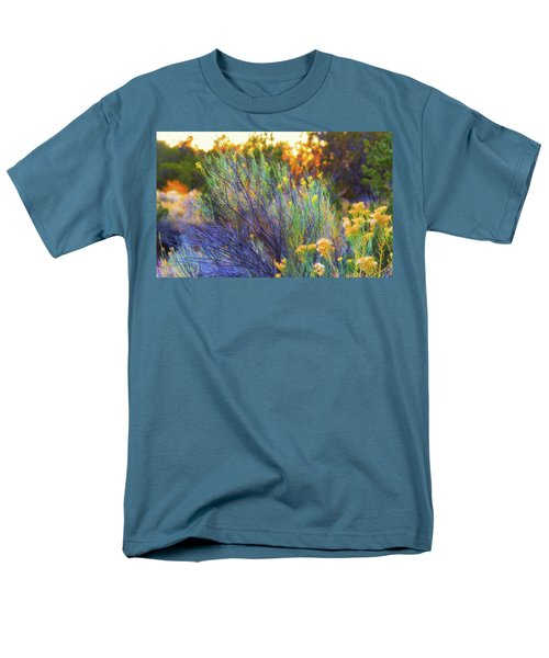 Men's T-Shirt  (Regular Fit) featuring the photograph Santa Fe Beauty by Stephen Anderson