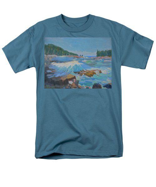 Schoodic Inlet Men's T-Shirt  (Regular Fit)