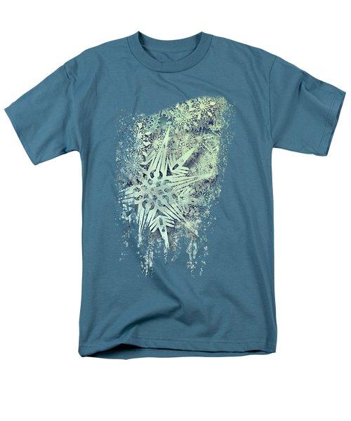 Sea Of Flakes Men's T-Shirt  (Regular Fit) by AugenWerk Susann Serfezi