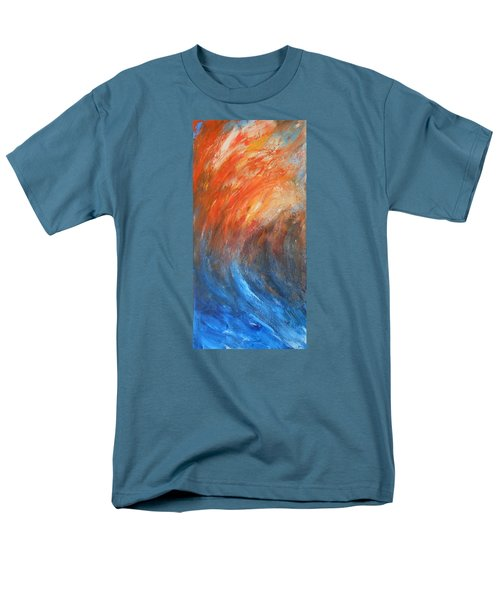 Men's T-Shirt  (Regular Fit) featuring the painting Sea Of Passion by Jane See