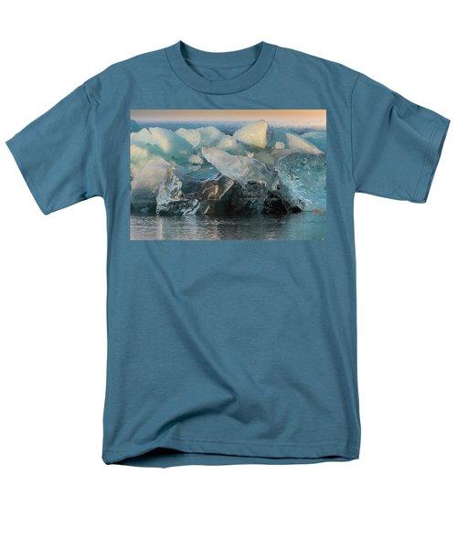 Seal Nature Sculpture Men's T-Shirt  (Regular Fit) by Allen Biedrzycki