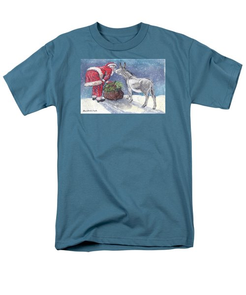 Season's Greetings Men's T-Shirt  (Regular Fit) by Dawn Senior-Trask