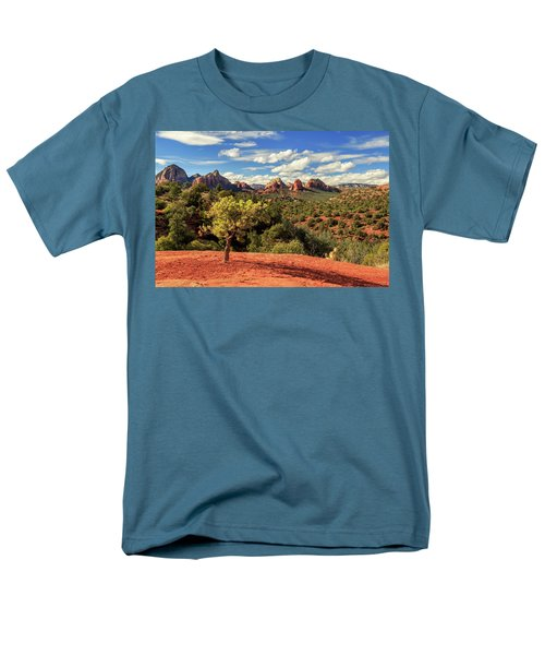 Sedona Afternoon Men's T-Shirt  (Regular Fit) by James Eddy
