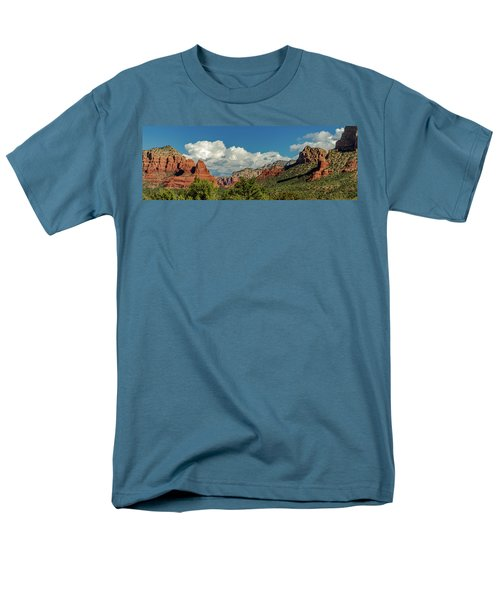 Men's T-Shirt  (Regular Fit) featuring the photograph Sedona Panoramic II by Bill Gallagher