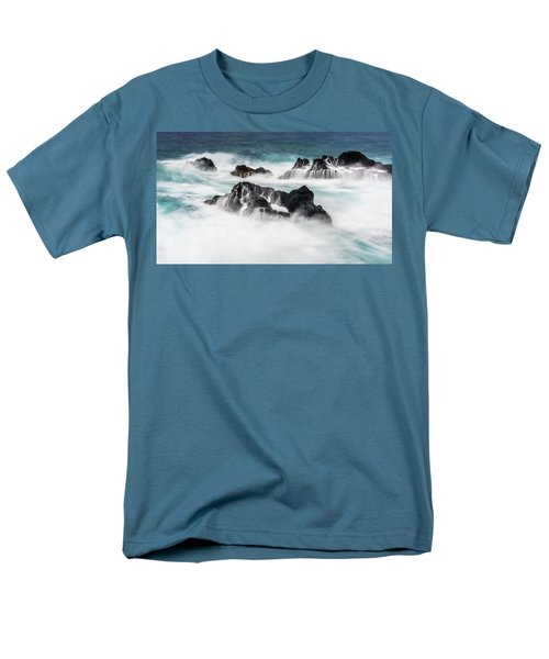 Men's T-Shirt  (Regular Fit) featuring the photograph Seduced By Waves by Jon Glaser