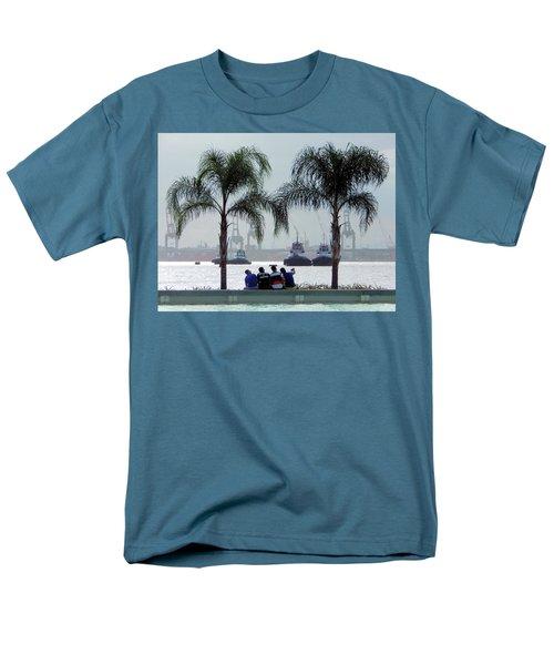 Selfie Us Men's T-Shirt  (Regular Fit) by Beto Machado