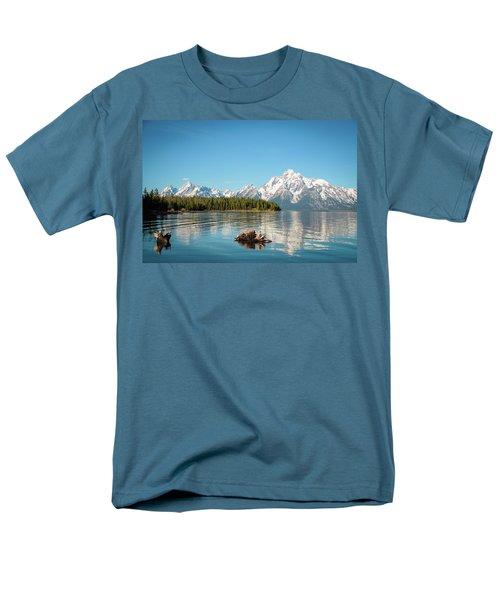 Serenity Men's T-Shirt  (Regular Fit) by Jill Laudenslager