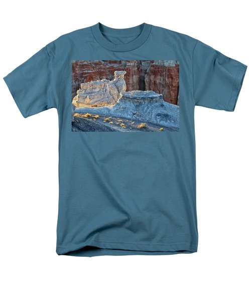 Shadows At Coal Mine Canyon Men's T-Shirt  (Regular Fit) by Tom Kelly