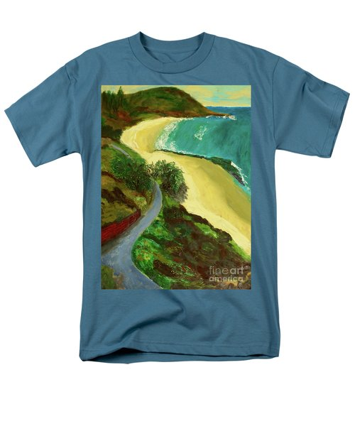 Shelly Beach Men's T-Shirt  (Regular Fit) by Paul McKey