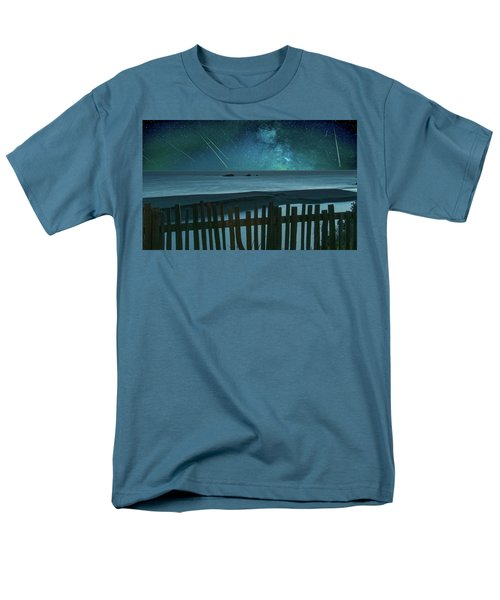 Shooting Stars Men's T-Shirt  (Regular Fit) by Marius Sipa