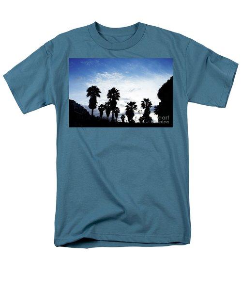 Silhouette In Tropea Men's T-Shirt  (Regular Fit) by Ana Mireles
