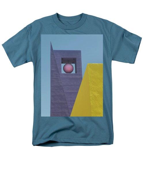 Similar Shapes Different Colors Men's T-Shirt  (Regular Fit)